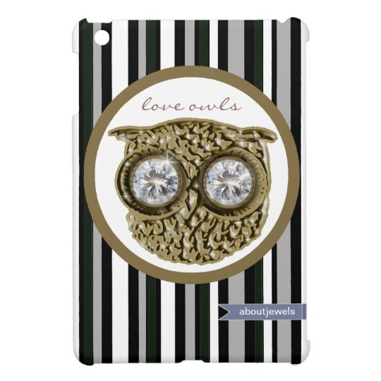 Love owls cute design iPad mini cases