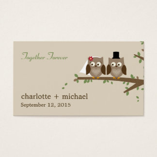 Love Owls Gift Tags