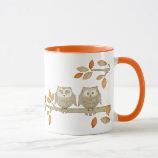 Love Owls in Tree Mug