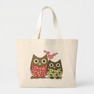 Love Owls Jumbo Tote Bag