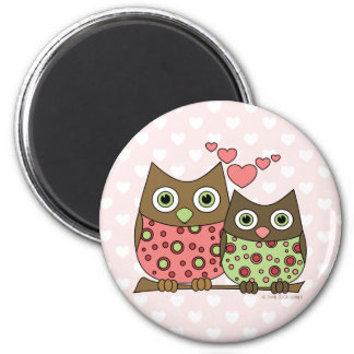 Love Owls Magnets