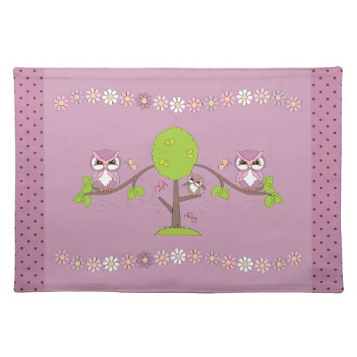 Love Owls Placemat
