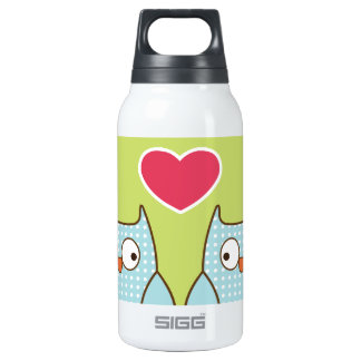 love owls thermos water bottle