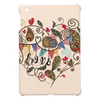 Love Owls Valentines iPad Mini Covers