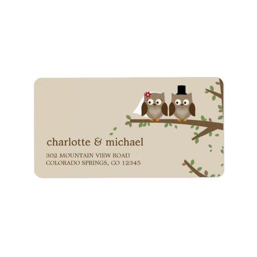 wedding adress labels