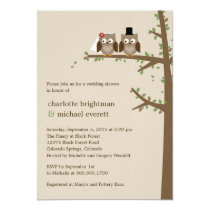 Love Owls Wedding Shower/Rehearsal Dinner Invites