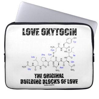 Love Oxytocin The Original Building Blocks Of Love Computer Sleeve