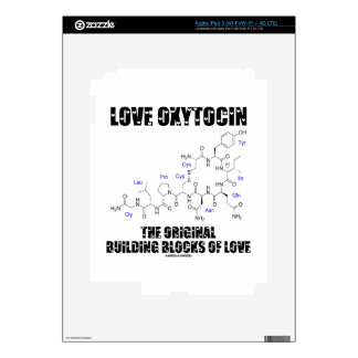 Love Oxytocin The Original Building Blocks Of Love Decals For iPad 3