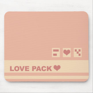 Love Pack Box Mouse Pad