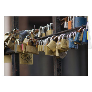 Love Padlocks, Prague Card