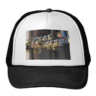 Love Padlocks, Prague Mesh Hat