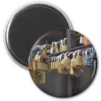 Love Padlocks, Prague Refrigerator Magnets