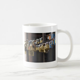 Love Padlocks, Prague Coffee Mug