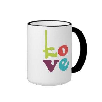 Love Paintball Logo Mug