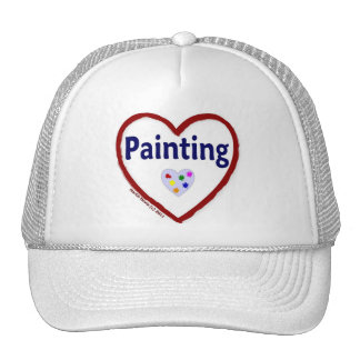 Love: Painting - Hat