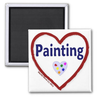 Love: Painting - Magnet