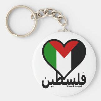 Love Palestine Keychain