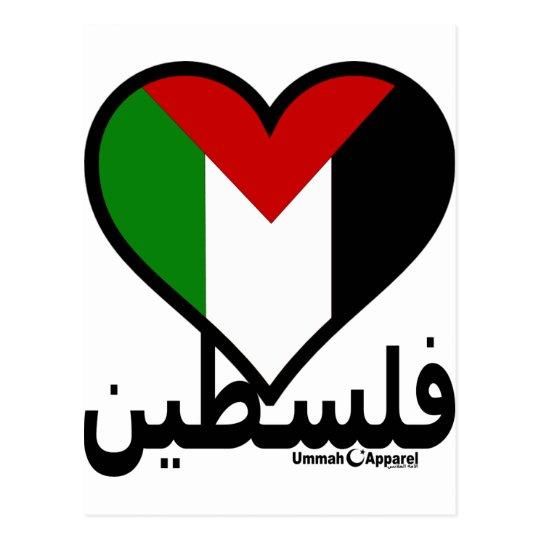Love Palestine Postcard