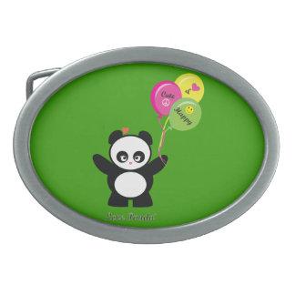 Love Panda® Belt Buckles