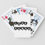 Love Panda® Bicycle Playing Cards