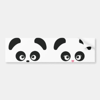 Love Panda® Bumper Sticker