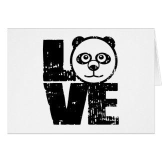 Love Panda Card