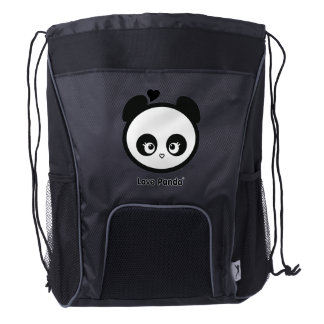Love Panda® Drawstring Backpack