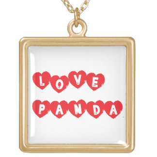 Love Panda® Gold Plated Necklace