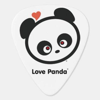 Love Panda® Guitar Pick by CUTEbrandsGIFTS at Zazzle