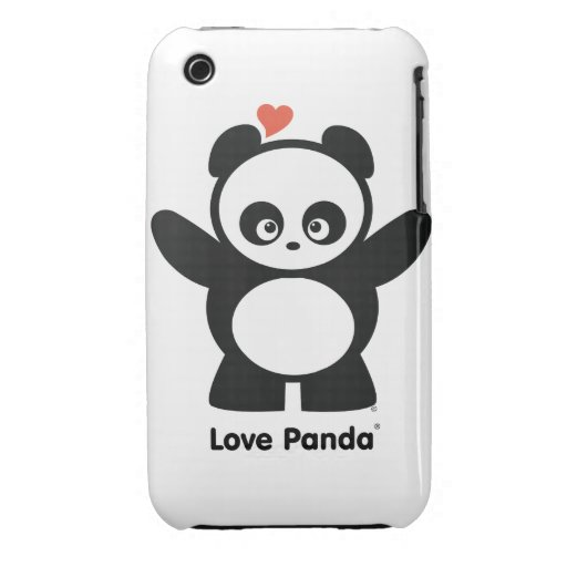Love Panda® iPhone 3G/3GS Barely There Case-Mate iPhone 3 Case