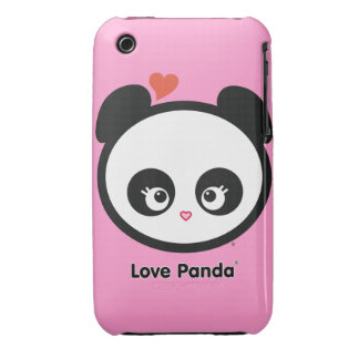 Love Panda® iPhone 3G/3GS Barely There Case-Mate iPhone 3 Cases