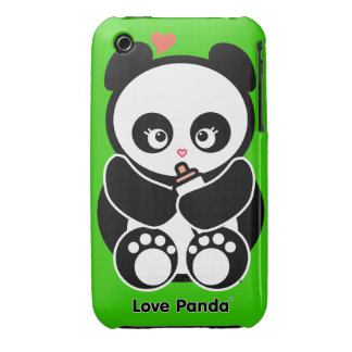 Love Panda® iPhone 3G/3GS Barely There iPhone 3 Case-Mate Cases