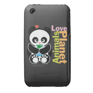 Love Panda® iPhone 3G/3GS Case-Mate Barely There Case-Mate iPhone 3 Cases