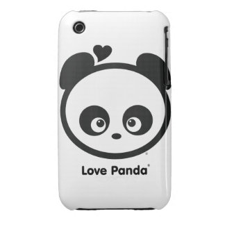 Love Panda® iPhone 3G/3GS Case-Mate Barely There iPhone 3 Case