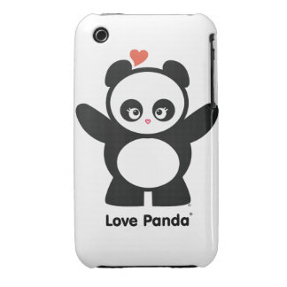 Love Panda® iPhone 3G/3GS Case-Mate Barely There iPhone 3 Case-Mate Case