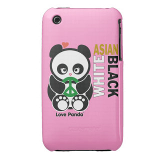Love Panda® iPhone 3G/3GS Case-Mate Barely There iPhone 3 Case-Mate Cases