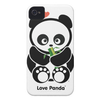 Love Panda® iPhone 4/4S Case-Mate Barely There™ iPhone 4 Cover