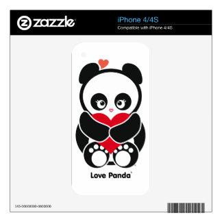 Love Panda® iPhone Skin iPhone 4S Decal