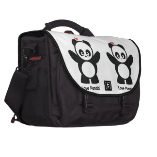 Love Panda® Laptop Commuter Bag