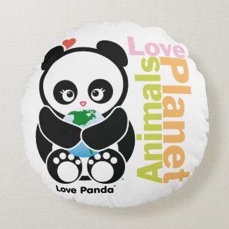 Love Panda® Round Pillow