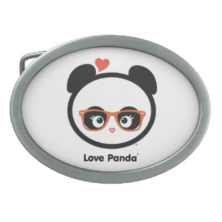 Love Panda® Oval Belt Buckle