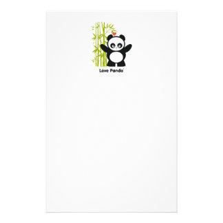Love Panda® Personalized Stationery