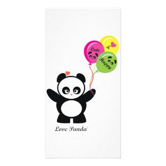 Love Panda® Photo Card Template