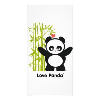 Love Panda® Personalized Photo Card