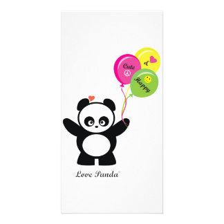 Love Panda® Photo Greeting Card