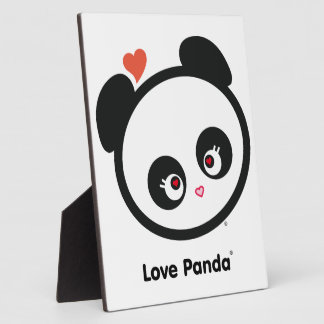 Love Panda® Plaque