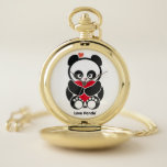 """Love Panda&#174; Pocket Watch<br><div class=""""desc"""">Love Panda&#174; product from Cute Brands. For more information on Love Panda&#174; check us out at www.CUTEandHAPPY.com</div>"""