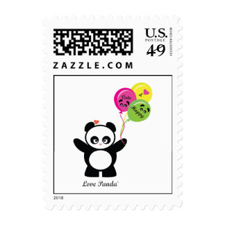 Love Panda® Postage Stamps