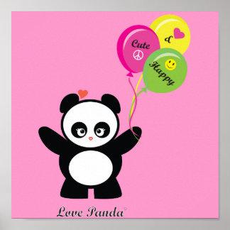 Love Panda® Poster