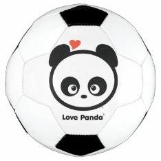 Love Panda® Soccer Ball at Zazzle